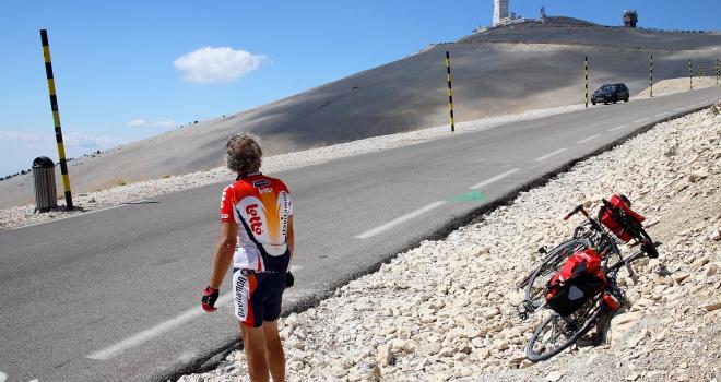 Cycliste mont ventoux 2
