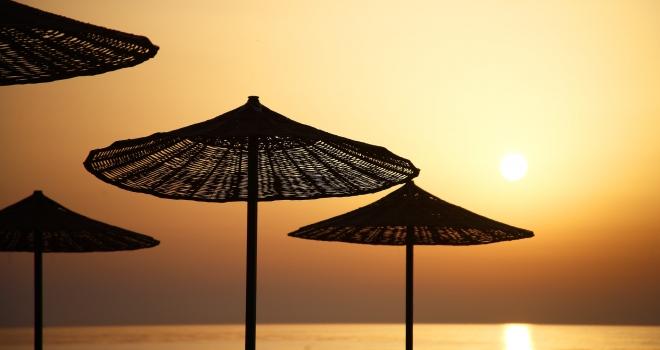 Coucher de soleil Antalya Turquie