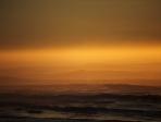 Coucher de soleil sur la côte basque