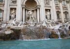 La fontaine de trevi Rome Italie