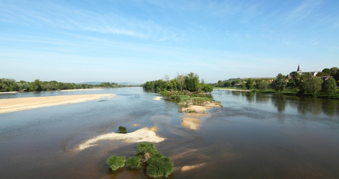 la Loire à Pouilly sur Loire