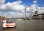 London eye et Tamise