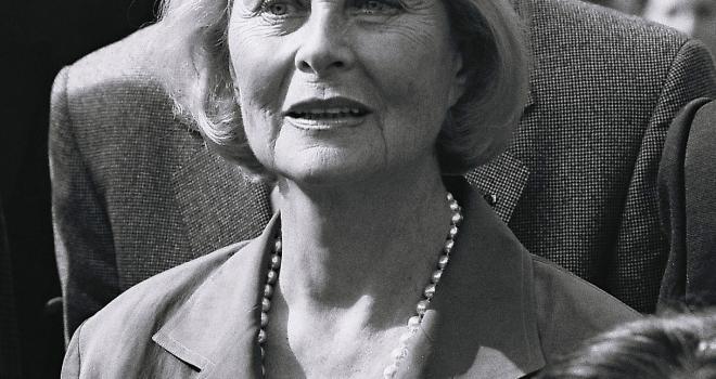 Michèle Morgan Mériel septembre 1992