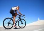 Cycliste mont ventoux