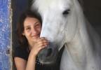 Jeune fille et cheval