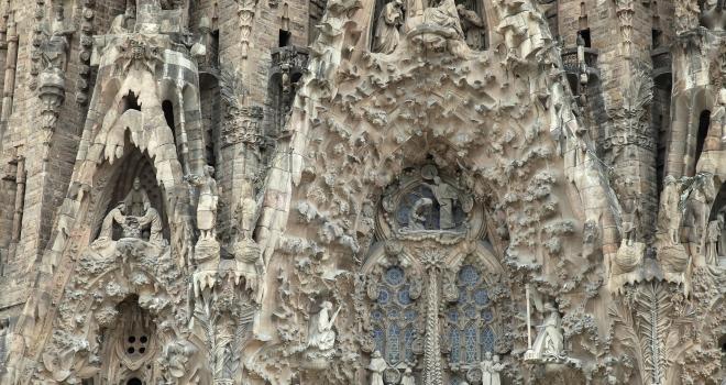 Détails Sagrada Familia