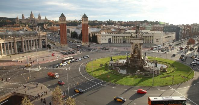 Place de Catalogne Barcelone
