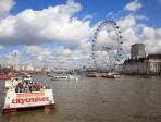 London eye et Tamise