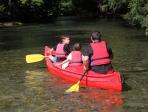 Canoe kayak sur la Sorgues