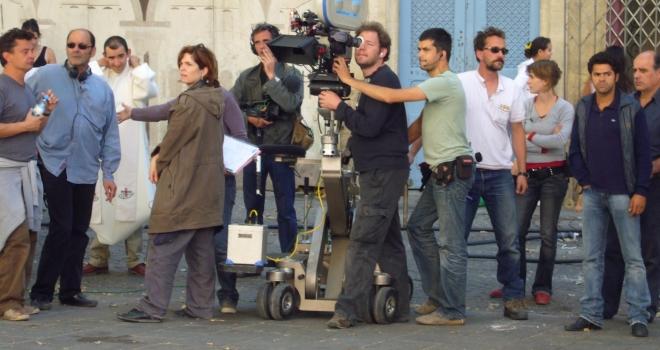 tournage parlez moi de la pluie 2007